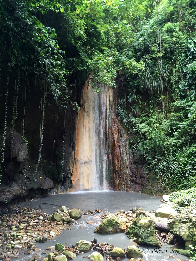 Diamond Waterfall Saint Lucia