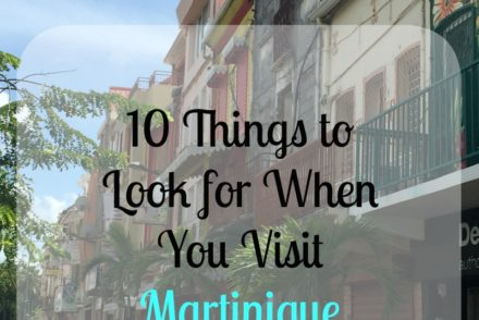 10 Things to Look for When You Visit Martinique