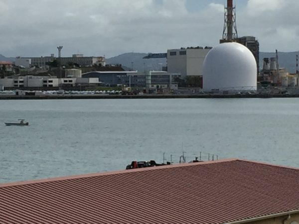 Martinique Dome on waterfront