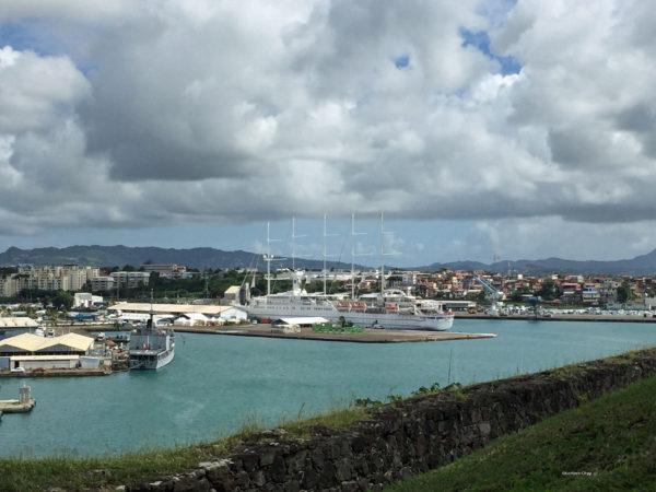 Naval Ships Fort de France Martinique