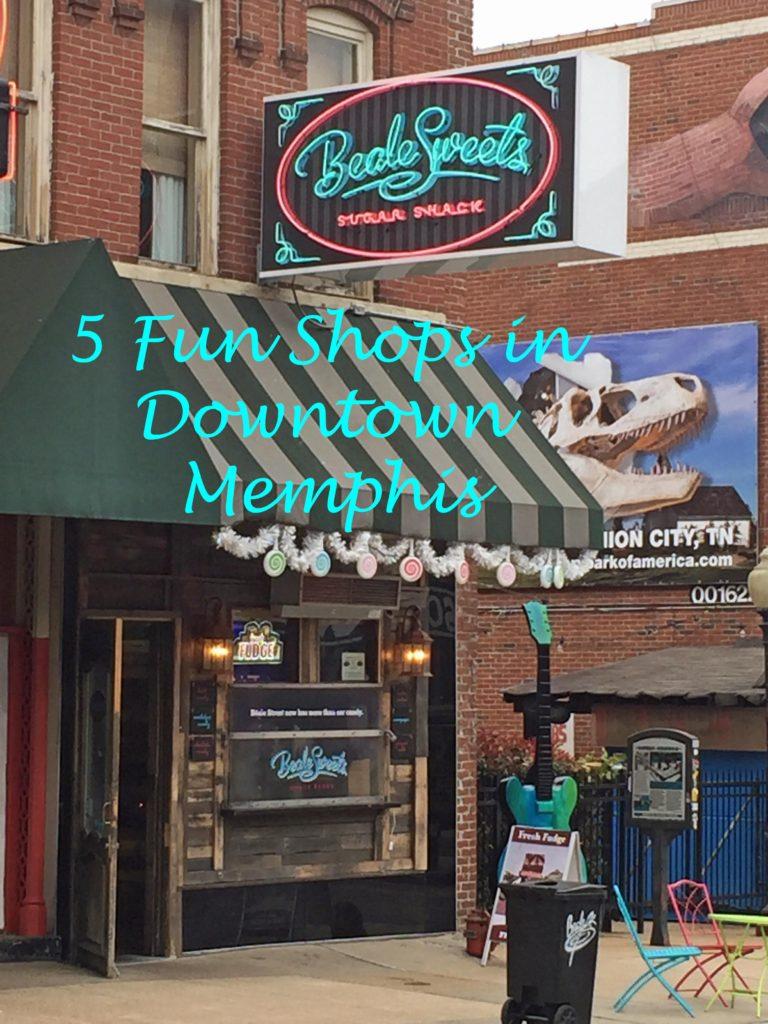 5 Fun Shops in Downtown Memphis