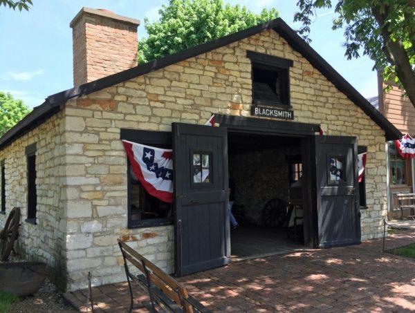 Naper Settlement Blacksmith Shop