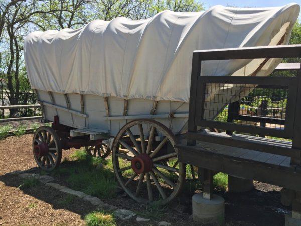 Naper Settlement Covered Wagon