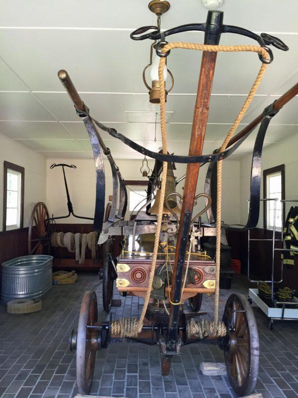 Naper Settlement Fire Truck