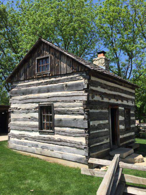 Naper Settlement Log Cabin