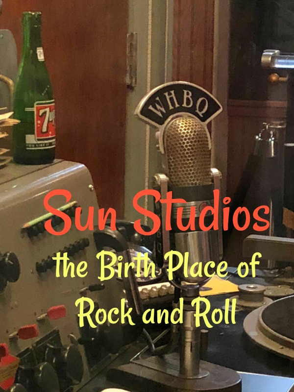 The Birthplace of Rock n Roll Sun Studio #rocknroll #sunstudio #memphis #Tennesee #musichistory