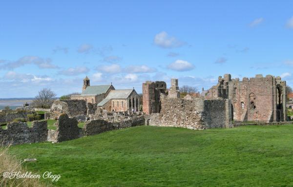 Holy Island Lindisfarne Castle pebblepirouette.com #holyisland #lindisfarnecastle #england #uk
