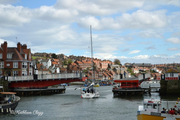 Day trip to Whitby England City View pebblepirouette.com #whitby #england #ruins #beach