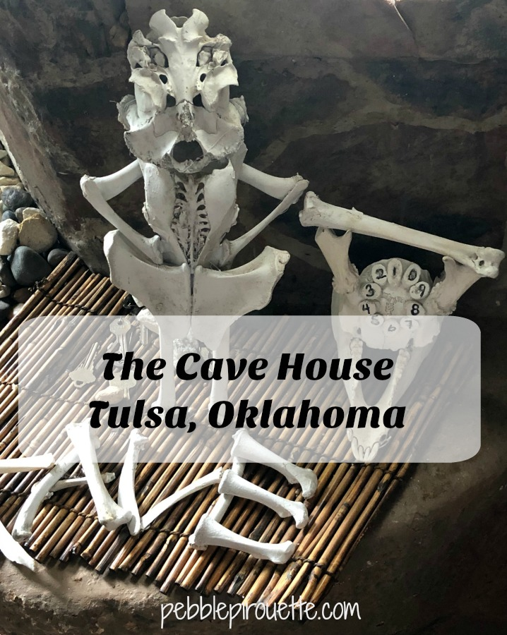 The Cave House Tulsa Oklahoma Bone Sculptures