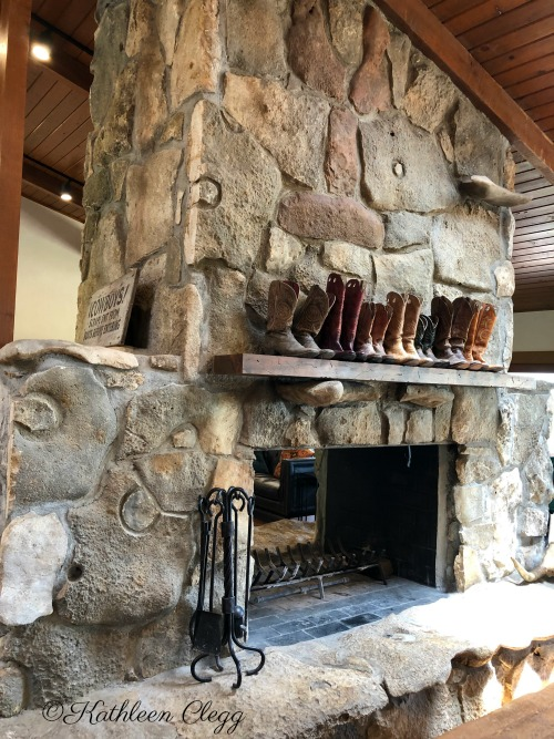 Drummond Ranch Lodge Fireplace