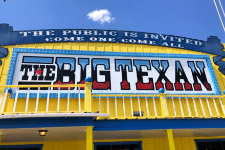 The Big Texan Amarillo Texas