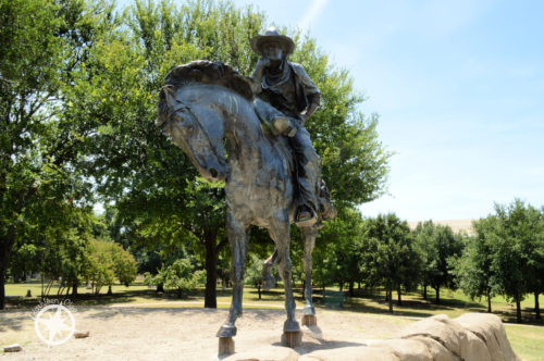 5 Sculptures from Central Park Dallas